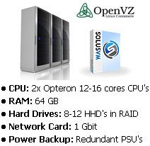 VPS OpenVZ Server Info