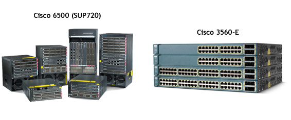 USA Data Center Internal Network Cisco Routers 6500 - CISCO POWERED NETWORK