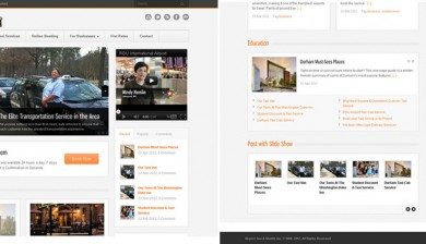 ABD Technology Web Design for Taxi-Cab-Shuttle