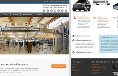 Limo-Web-Design by ABD Technology -Prestige-Premier-Business
