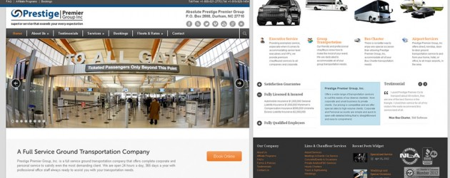 Limo-Web-Design by ABD Technology -Prestige-Premier-Business