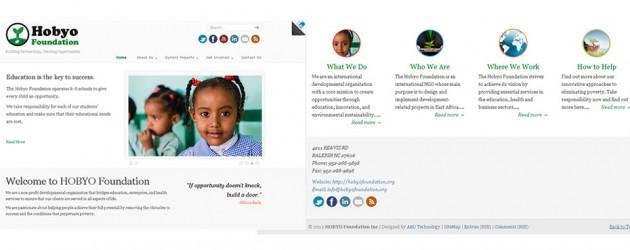 Non-Profit-Organization-Web-Design- Hobyo-Foundation-Business