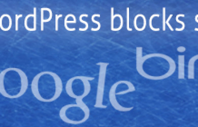 Wordpress Blocking Seacrh Engines