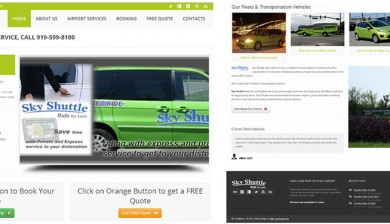 Airport-Sky-Shuttle-Ride-Service-Business-Web-Design-Development