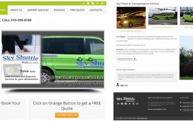 Airport-Sky-Shuttle-Ride-Service-Business-Web-Design-Development