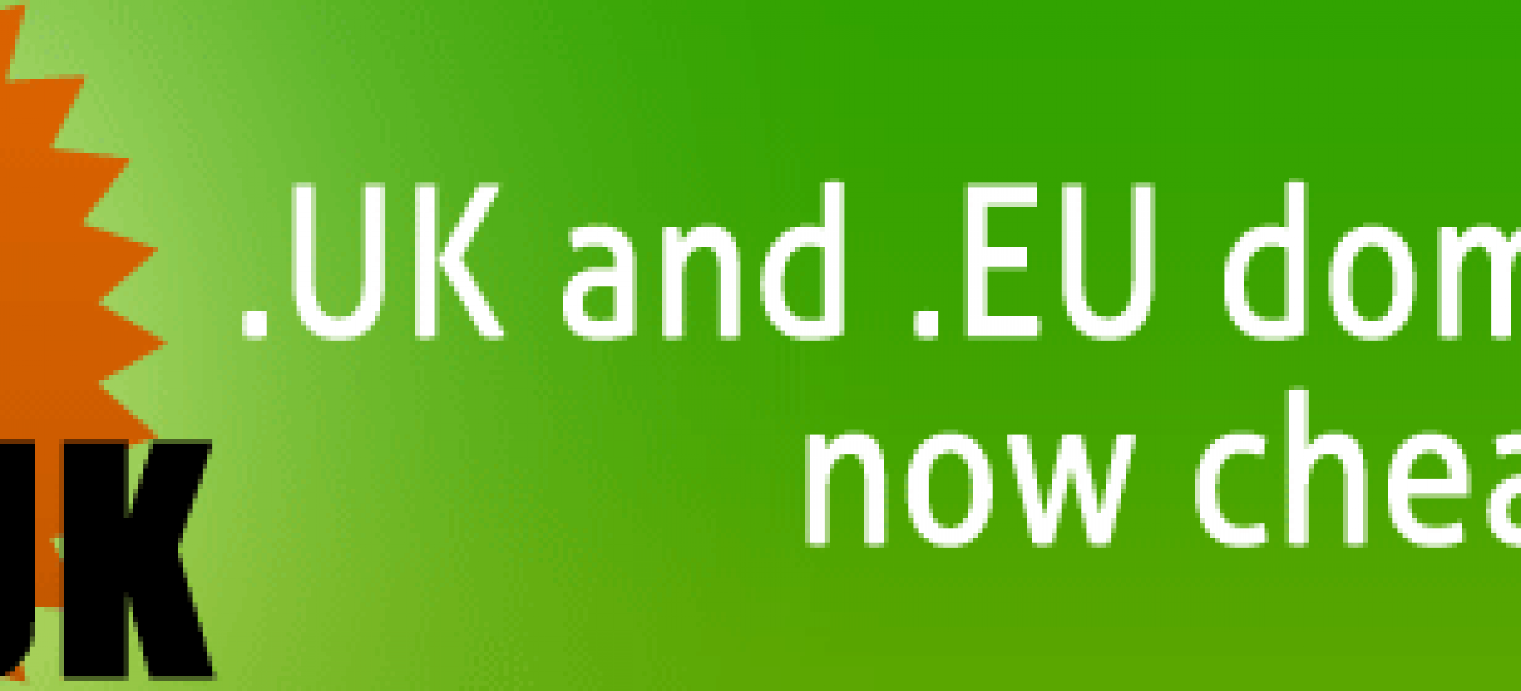 Lower .EU and .UK domain registration prices