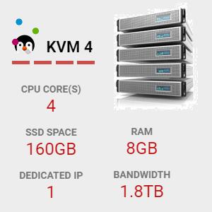 KVM-4-VPS-HOSTING